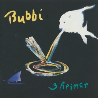 3 heimar - Bubbi Morthens - Front
